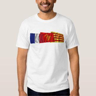 Pyrénées-Orientales, Languedoc-Roussillon & France Tee Shirt
