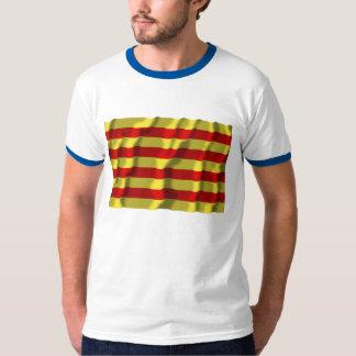 Pyrénées-Orientales waving flag Tee Shirt