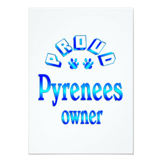Pyrenees Owner Card