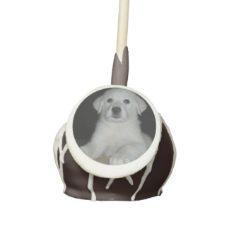 Pyrenees Pup Cake Pops