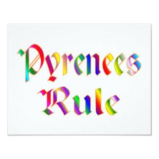 Pyrenees Rule Card