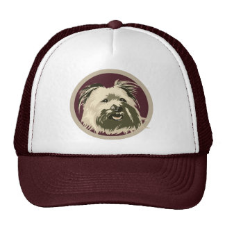 PYRENEES SHEEPDOG TRUCKER HAT