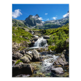 Pyrénées Stream Photo Art