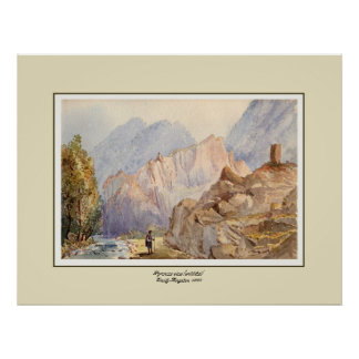 Pyrenees view(untitled). posters