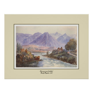 Pyrenees view(untitled) print