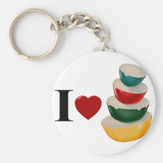 PyrexLove1.png Basic Round Button Keychain