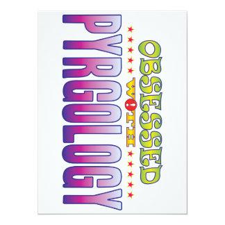 Pyrgology 2 Obsessed 14 Cm X 19 Cm Invitation Card