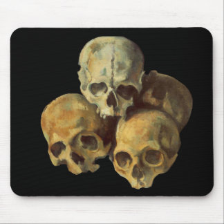 Pyrimid of Sculls Mouse Pad