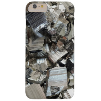 Pyrite Cluster Crystal Mineral Background Barely There iPhone 6 Plus Case