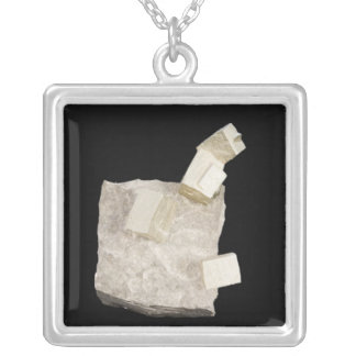 Pyrite Crystals in Shale Jewelry
