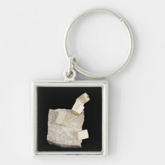 Pyrite Crystals in Shale Keychain