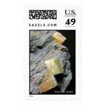 Pyrite  postage stamps