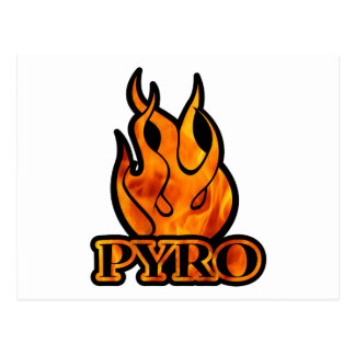 Pyro Post Cards