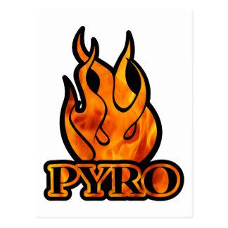 Pyro Post Card