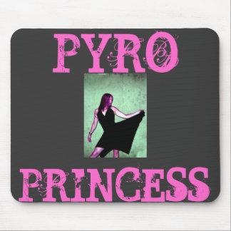 PYRO, PRINCESS MOUSE PAD