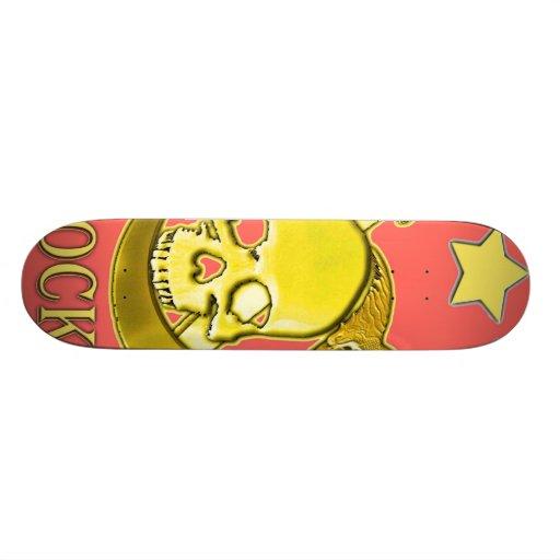 PYROCK_MIKE3 copy Skateboard Decks