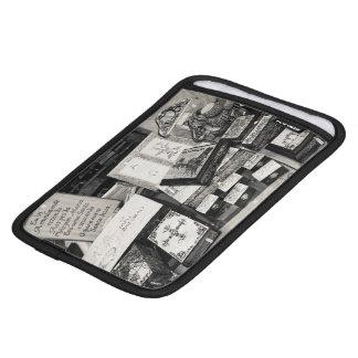 Pyrography craftwork iPad mini sleeve