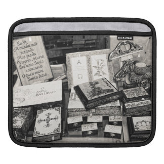 Pyrography craftwork iPad sleeves