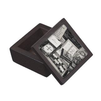 Pyrography craftwork premium keepsake box
