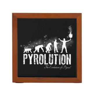 Pyrolution - The Evolution of Pyros Pencil/Pen Holder