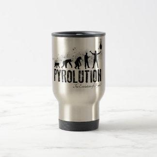 Pyrolution - The Evolution of Pyros Mugs