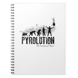 Pyrolution - The Evolution of Pyros Note Books
