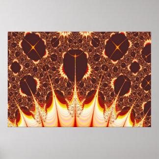 Pyromania Fractal Print