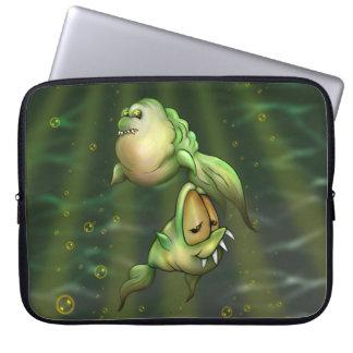"PYROS FISH ALIENS Electronics Bag 15"""