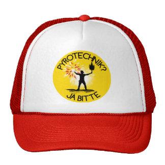 Pyrotechnik? Ja bitte! Trucker Hat