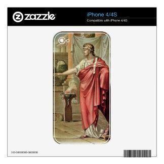 Pyrrhus, costume for 'Andromache' by Jean Racine, iPhone 4 Decals