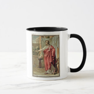 Pyrrhus, costume for 'Andromache' by Jean Racine, Mug
