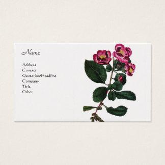 Pyrus Japonica Business Card