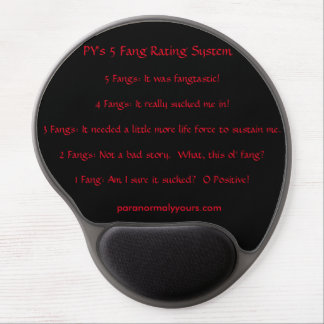 PY's 5 Fang Rating System Gel Mousepad