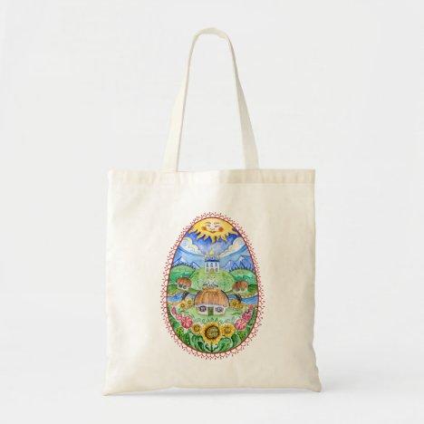 Pysanka Ukrainian Easter egg Tote Bag