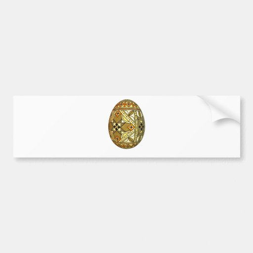 Pysanky Easter Egg 1 Bumper Stickers