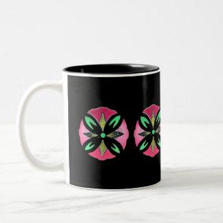 Pysanky Flower Mug