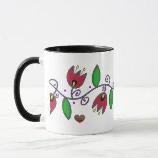 Pysanky Symbols Series: Vine Mug