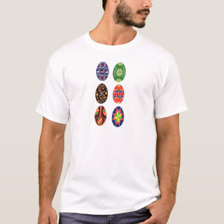 Pysanky Ukrainian Easter eggs T-Shirt