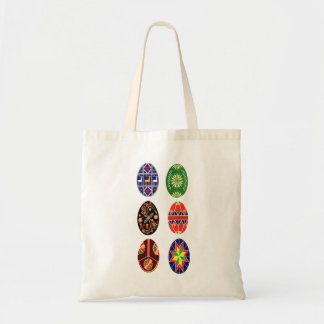 Pysanky Ukrainian Easter eggs Tote Bag