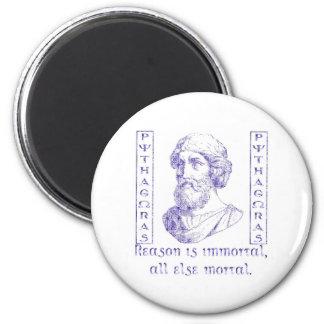 Pythagoras 2 Inch Round Magnet