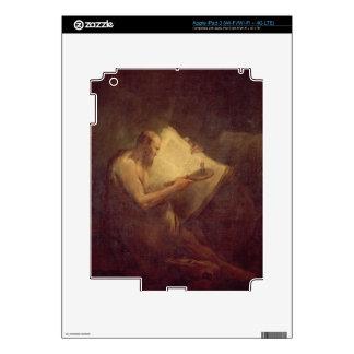 Pythagoras (6th century BC) (oil on canvas) Decal For iPad 3
