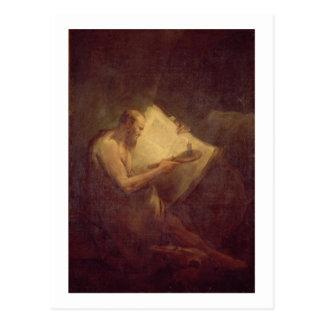 Pythagoras (6th century BC) (oil on canvas) Postcard