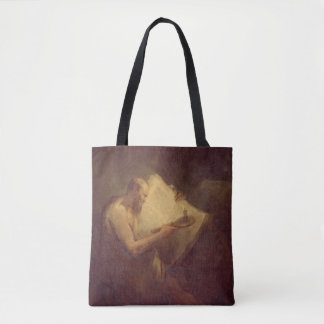 Pythagoras (6th century BC) (oil on canvas) Tote Bag