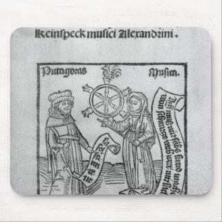 Pythagoras  and Music Mouse Pad