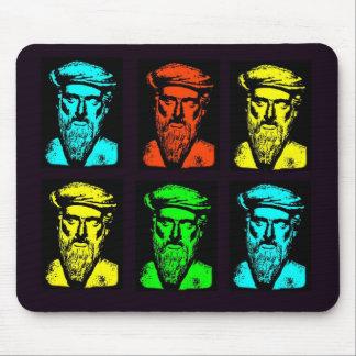 Pythagoras Collage Mouse Pad