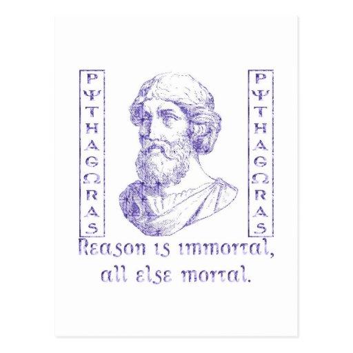 Pythagoras Post Cards