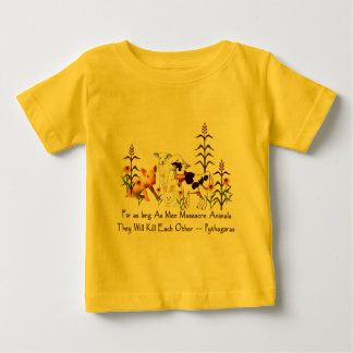 Pythagoras Vegetarian quote Baby T-Shirt