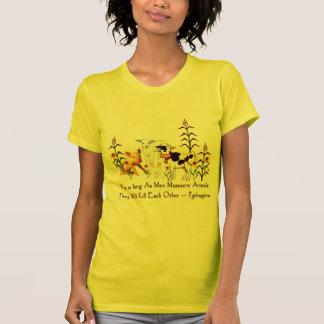 Pythagoras Vegetarian quote Shirt
