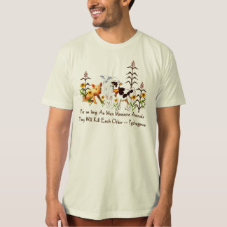 Pythagoras Vegetarian quote T-Shirt