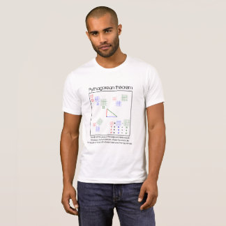 Pythagorean Theorem: graphic relationship T-Shirt